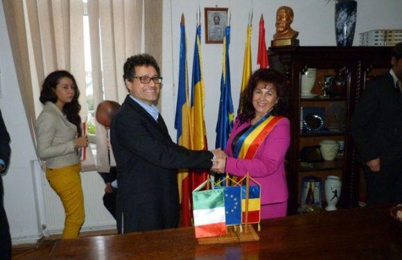 Vizita oficiala a delegației din Pietramelara, Italia , 17 Octombrie 2014